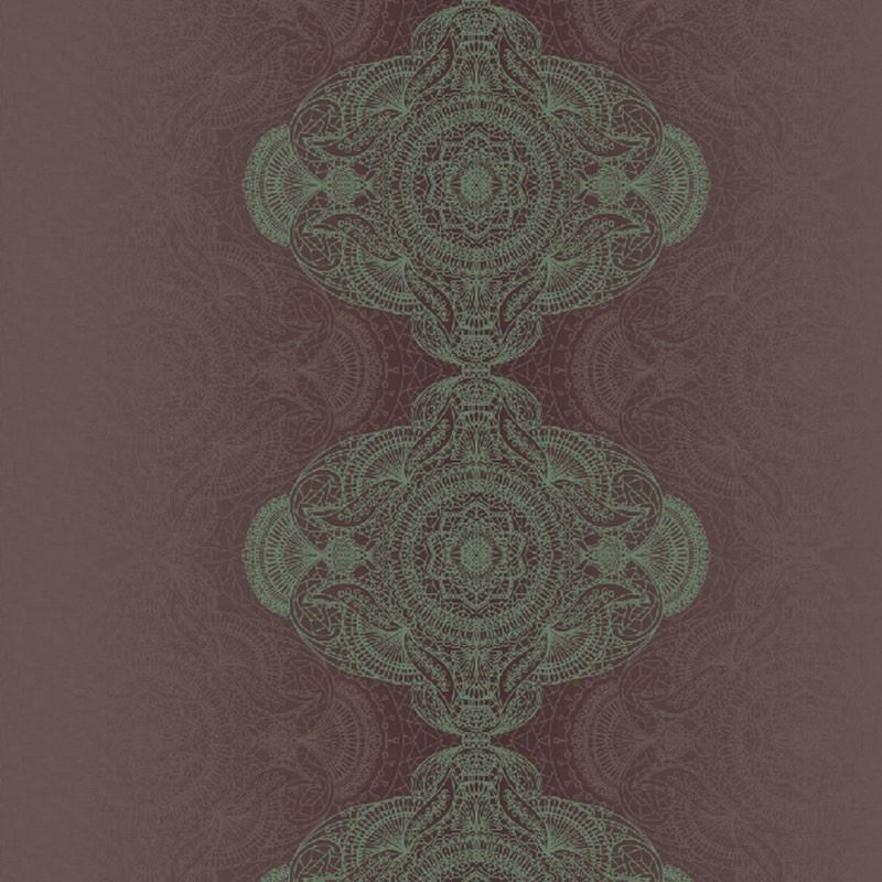 KP10109 Bettina Damask, Green by Questex Commercia