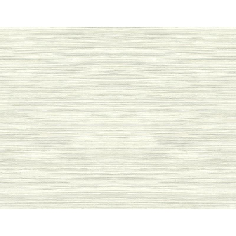 RC15308 Seabrook Orange Faux Grasscloth, White by