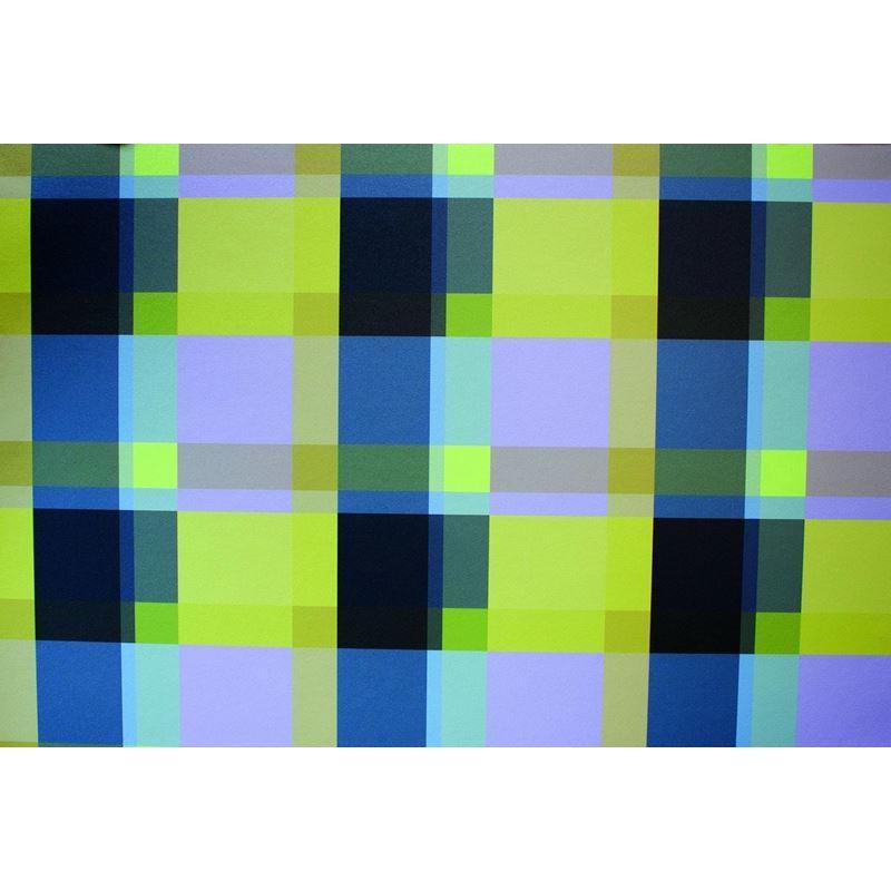 Acid Plaid Acid Plaid Chartreuse/Gray OS109-01 Typ
